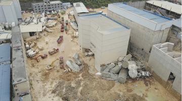 贵阳一公司厂区内发生滑坡 7人被困