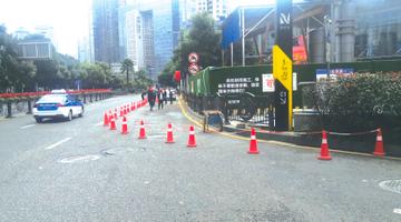 北京路市南路周边都很堵