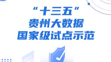 """""""十三五""""贵州大数据国家级试点示范"""