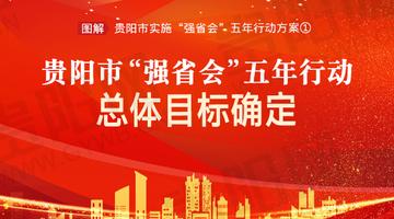 """贵阳""""强省会""""五年行动总体目标确定"""