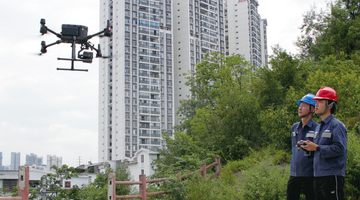 贵阳电网采用科技设备护航市民夏季用电