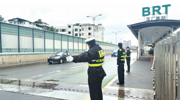 市民热议中环路可借道BRT车道通行