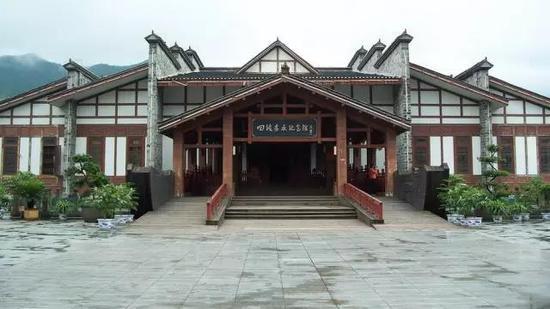 ▲四渡赤水纪念馆