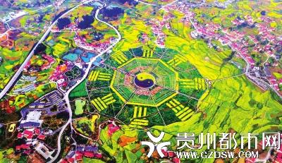 仁怀市坛厂八卦园,春天来了,色彩斑斓。 吴东俊 摄