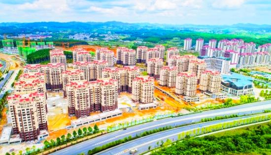 今年前8月贵安累计完成建筑业总产值逾100亿元