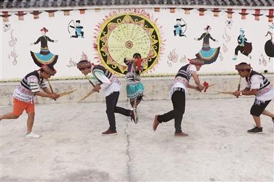 贵州省非物质文化遗产——红林斗鸡舞