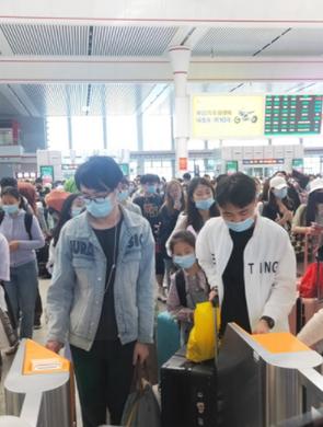 五一贵阳三大火车站客发总量创新纪录