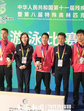 贵州游泳队单日夺得2金3银1铜