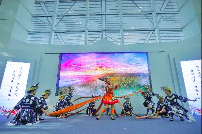 让贵州非遗走向世界 非遗周末聚亮相龙洞堡机场