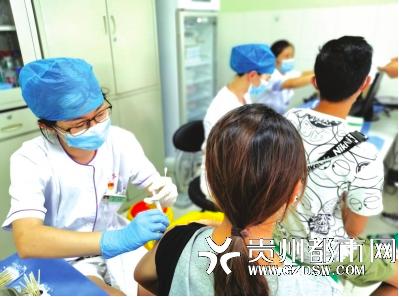 贵阳开始接受15-17岁未成年人接种新冠疫苗