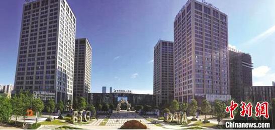 资料图:贵阳国家高新区大数据广场。 贵阳国家高新区供图