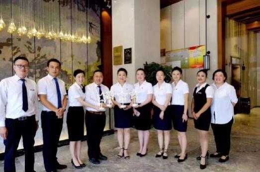 全国星际酒店评级现场——上善酒店(高新区店)喜获四星