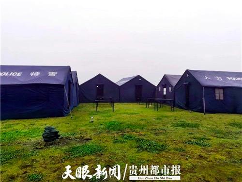 露营帐篷(岳仕海 摄)。