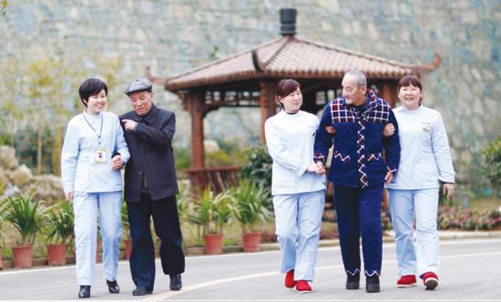 养老院成为新的养老方式