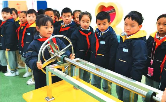 开学先痛快玩两天浦江这所小学不一般贵阳小学上海图片