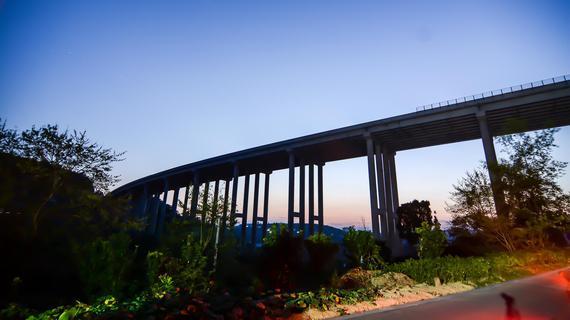 网友投稿-贵瓮高速清水河大桥至毛云段
