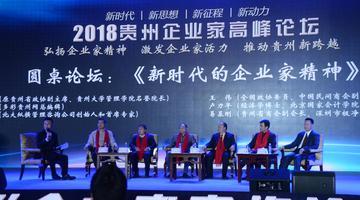 大咖聚首2018贵州企业家高峰论坛