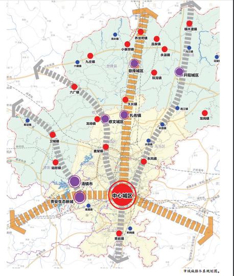 手绘重庆人口民族图
