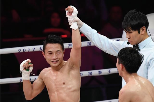 2017中国拳王赛厦门站比赛 贵州选手何君君获胜