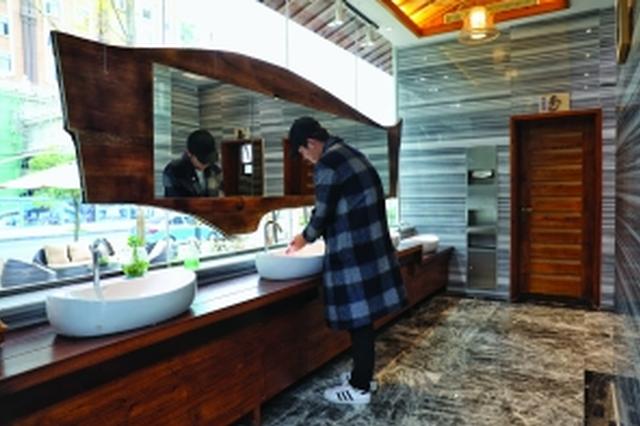 """荔波""""厕所革命""""便民利民 城市公厕如星级宾馆"""