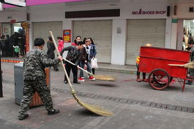开阳县城管监察大队狠抓市容市貌 擦亮城市名片