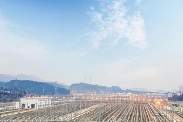 贵阳北第二动车所投用 可检修120组动车