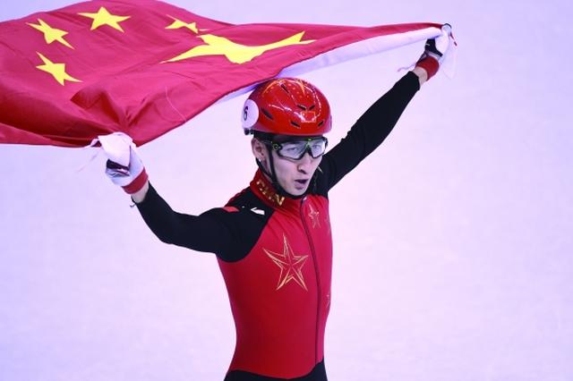 冬奥会短道速滑男子500米 武大靖夺得中国代表团首金