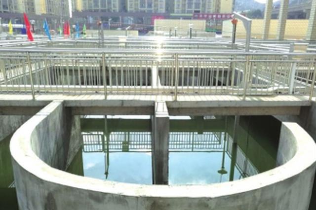清镇物流新城污水处理厂主体工程完工