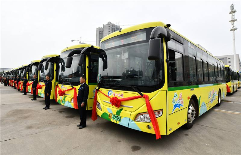 """海口公交集团荣膺全国""""公共交通高效运营企业"""""""