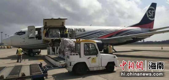 美兰机场引进顺丰全货机保障春运期间货物运输畅通