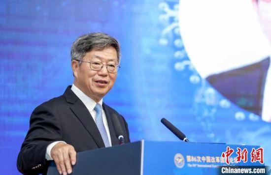 图为中国(海南)改革发展研究院院长迟福林。 王子谦 摄