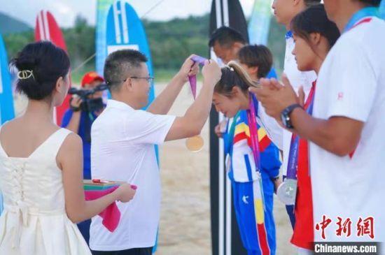 全运会冲浪比赛落幕 海南队包揽2枚金牌