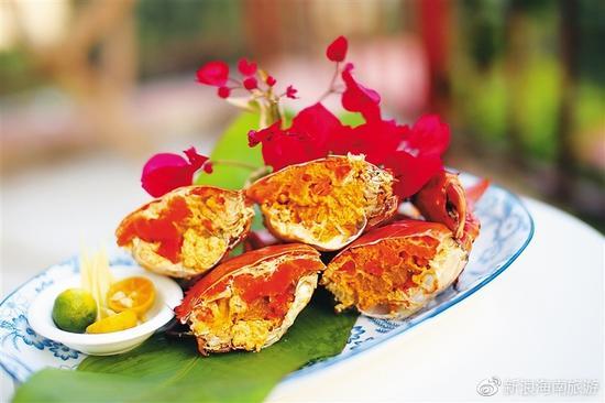 清蒸和乐蟹
