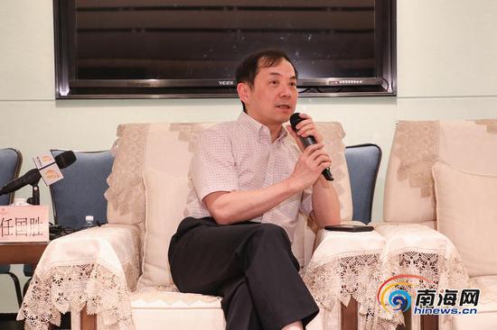 重庆医科大学附属第一医院原院长任国胜:愿为健康海南建设贡献力量