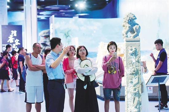 到南海博物馆听海的故事