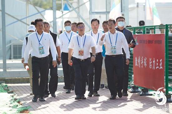 包洪文:全力以赴做好赛事服务保障工作
