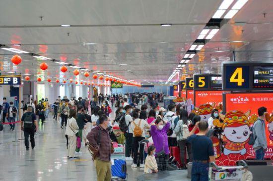 海口美兰机场航空市场节后迅速回暖 客流显著回升