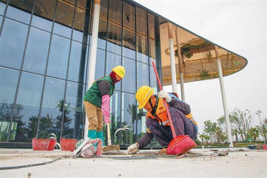 乐城医学产业中心建设进度达70%