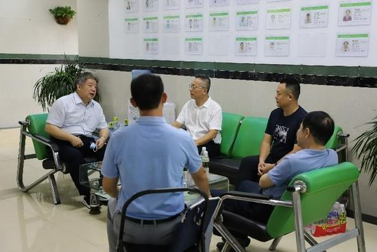 海南省退役军人事务厅海口调研社会化拥军工作