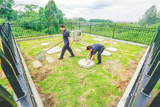 澄迈积极开展农村污水管网建设 提升人居环境