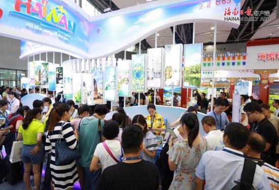 海南旅游产品亮相2019广东旅博会