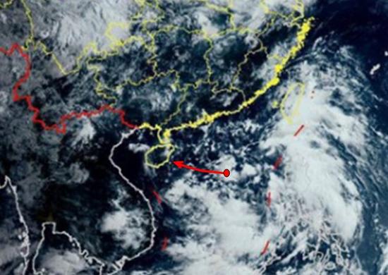 南海热带低压或于明天生成,7月31日起海南岛将有较强风雨