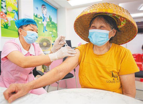 海口加快疫苗接种