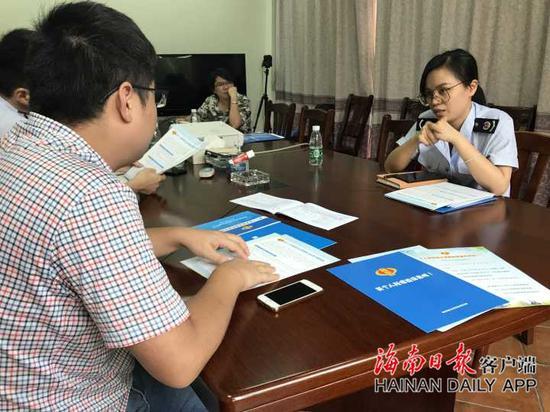 国家税务总局儋州市税务局开展大走访普法活动