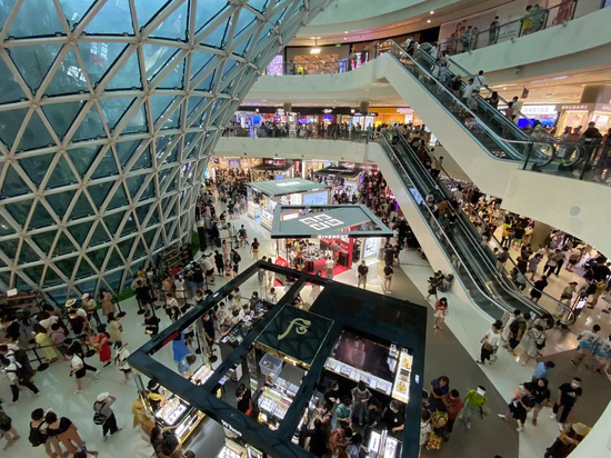 三亚国际免税城开启11.11离岛免税狂欢节