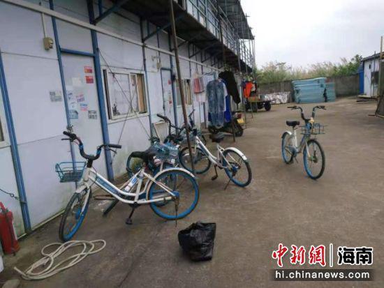 海口:4人偷7辆共享单车被刑事拘留