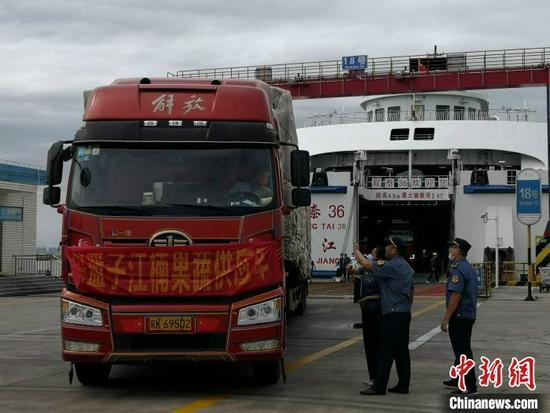 台风后79辆鲜菜保供车抵琼 海口恢复岛外鲜菜供应