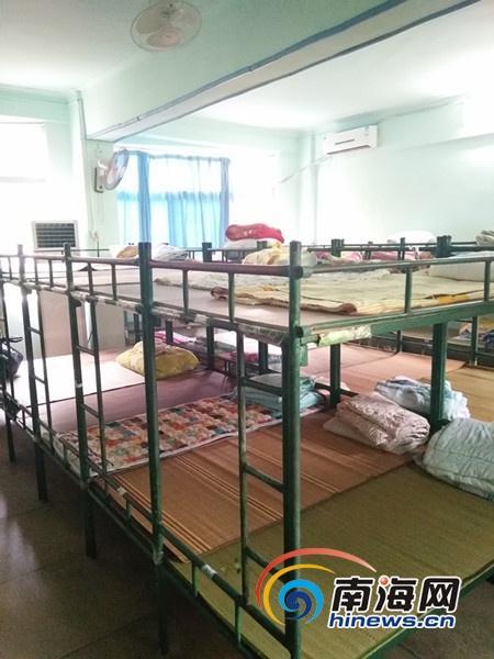 海口市第九小学周边一寄宿点存安全隐患,被要求整改。南海网记者刘麦 摄