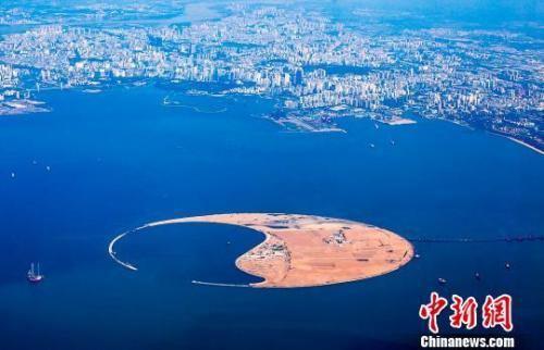 图为南海明珠生态岛。华皓宇 摄