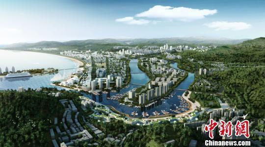 凤凰海岸单元效果图 三亚市自然资源和规划局 摄
